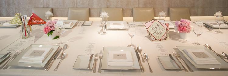結婚式,テーブルセット