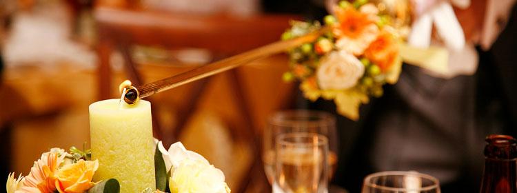 結婚式,演出