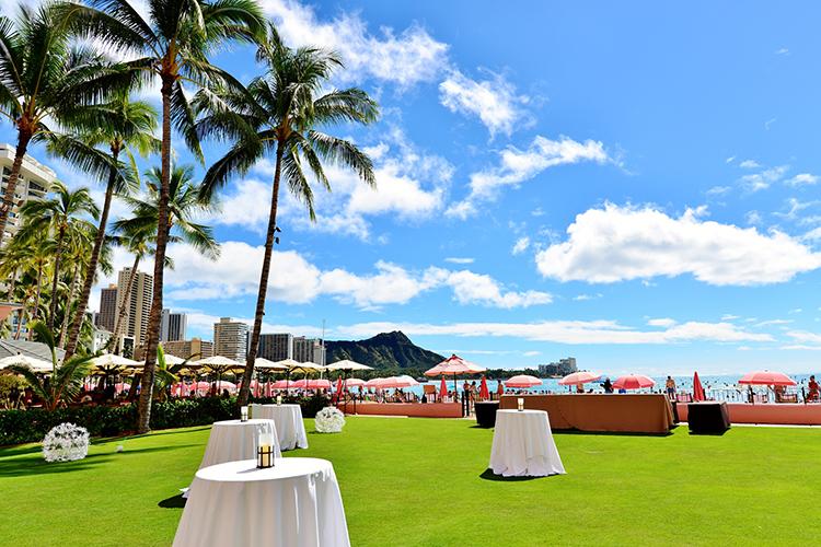 結婚式場,ハワイ