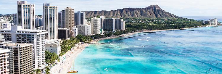 ハワイ,海
