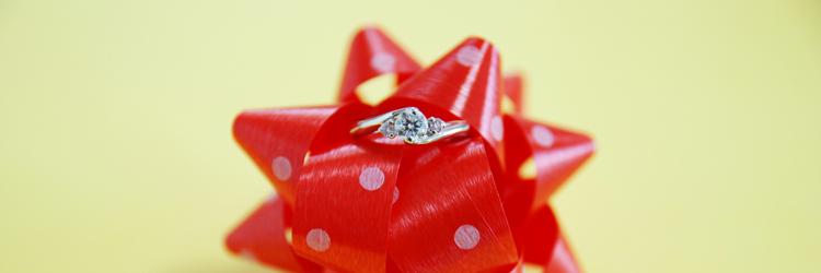 リボン,指輪