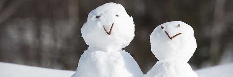 雪だるま,カップル