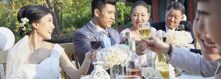 披露宴,食事会,乾杯