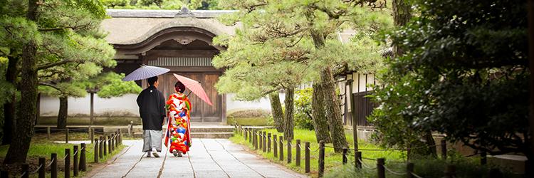 結婚式,神社