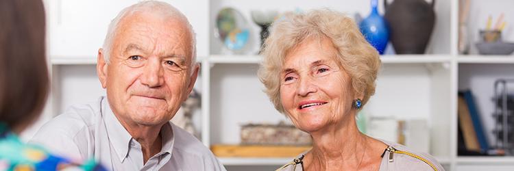シニアカップル,両親