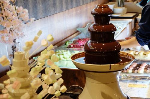 デザートブッフェ ビュッフェ チョコレートフォンデュ