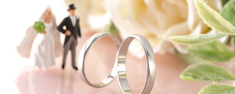 結婚指輪,新郎新婦ミニチュア