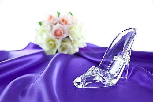 ガラスの靴