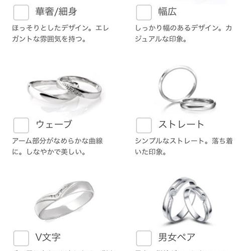 デザイン,指輪
