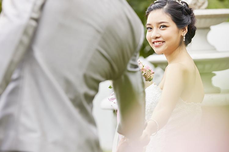 結婚式,カップル,新郎新婦