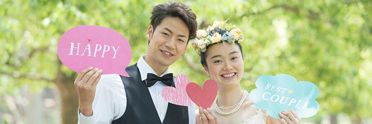 結婚式,カップル