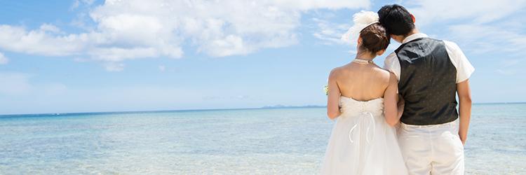 結婚式,ビーチ