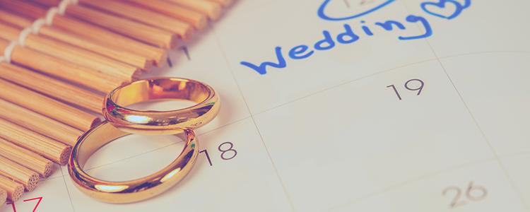 結婚スケジュール,指輪