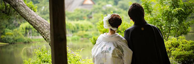 結婚式,和装