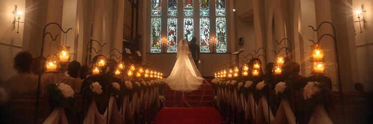 結婚式,教会