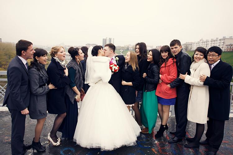 結婚式,友達