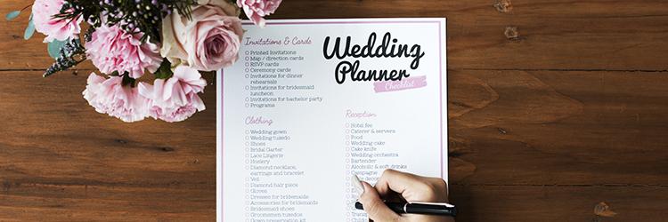 結婚式,リスト