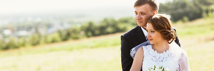 カップル,結婚式,屋外