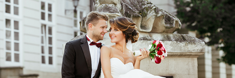 カップル,結婚式