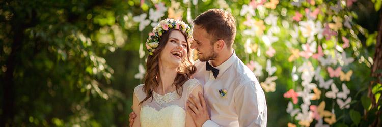 結婚式,カップル,笑顔