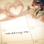 wedding day calender schedule