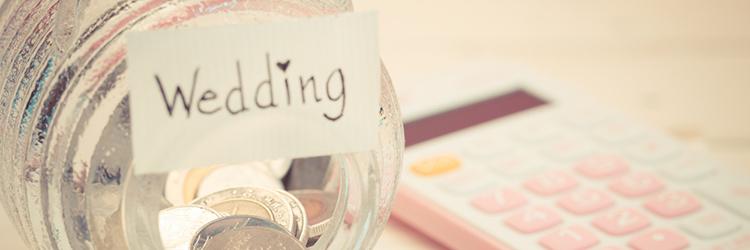 結婚式費用貯金,貯金箱