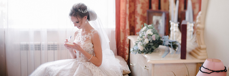 花嫁 手紙
