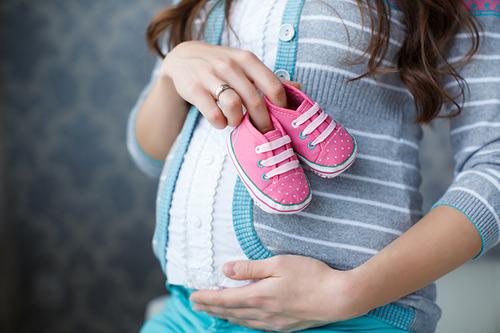妊婦 子供靴