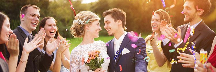 結婚式 祝福