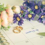 結婚式 カレンダー