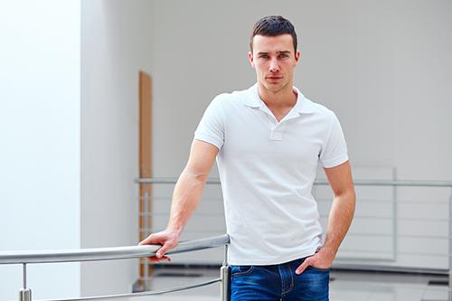 男性 ポロシャツ