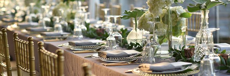 披露宴 テーブルセット
